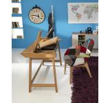 Birou din lemn Henny, L113xl60x80 cm