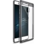 Protectie spate Ringke Fusion 827223, folie protectie inclusa, pentur Huawei P9 (Transparent/Negru)