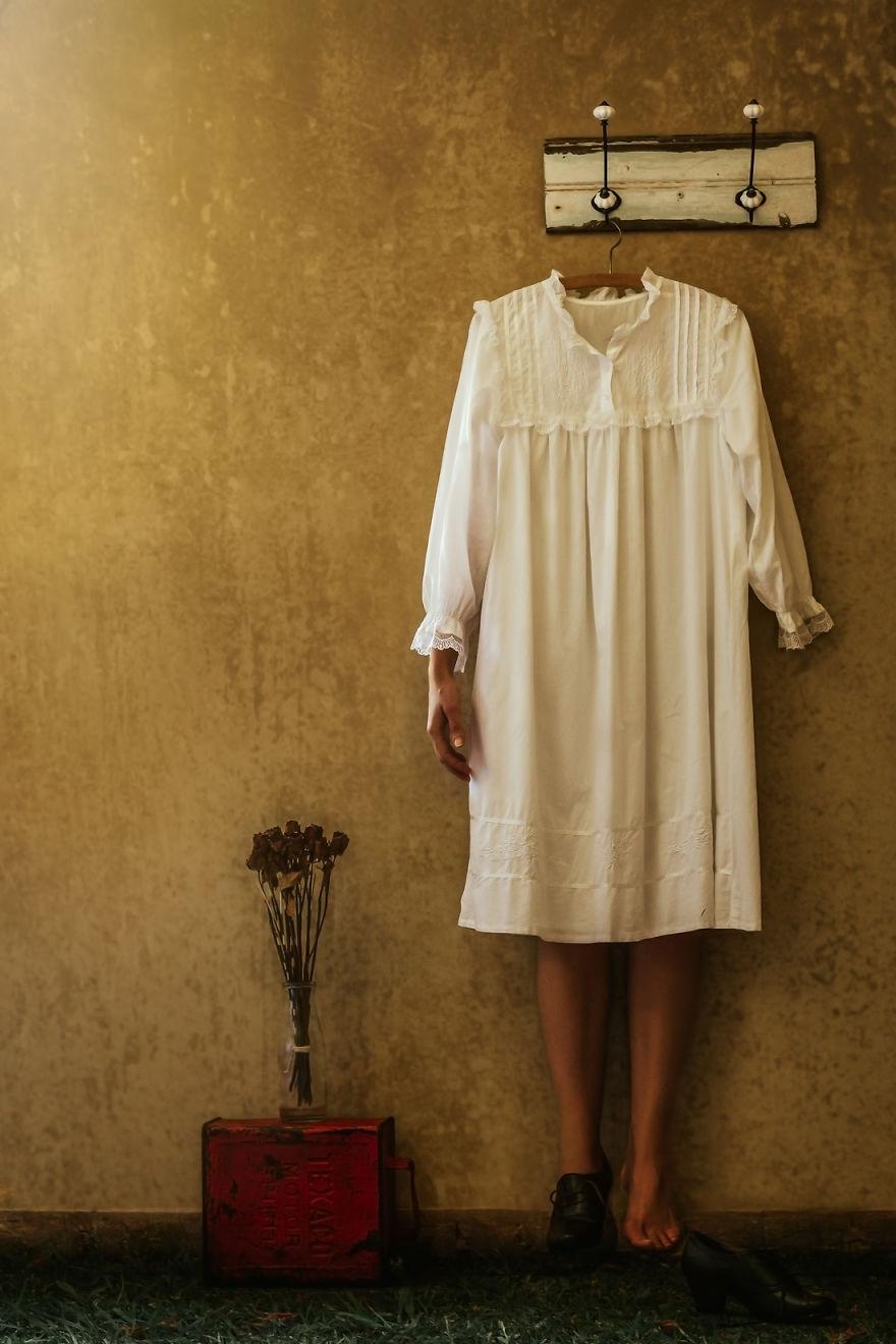 Povestea depresiei, in autoportrete conceptuale - Poza 4