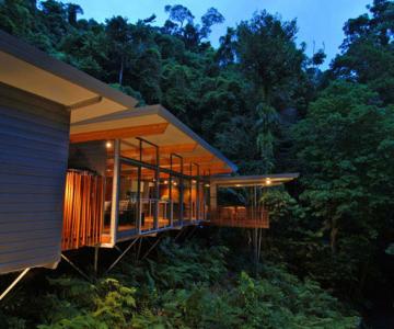 Casa in copac, de mmp Architects