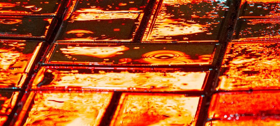 Nuantele picaturilor de ploaie, in poze fermecatoare - Poza 2