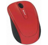 Mouse Microsoft Wireless BlueTrack Mobile 3500 (Rosu)