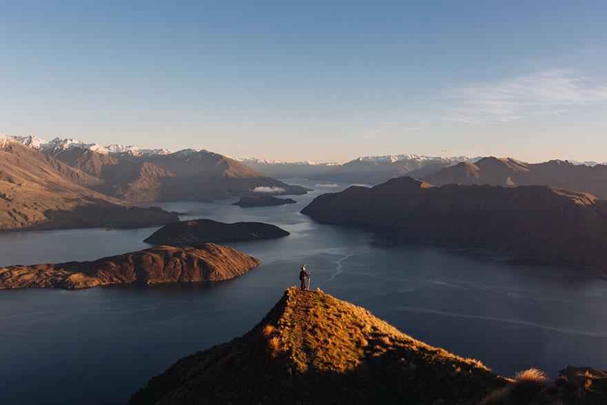 Calatoria lui Gandalf prin Noua Zeelanda, in poze epice - Poza 1