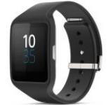 Sony Smartwatch 3 SWR50, LCD Transflectiv 1.6inch, Rezistent la apa si praf (Negru)