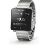 Sony Smartwatch 2, LCD 1.6inch, Bratara metal, Rezistent la apa si praf (Argintiu)