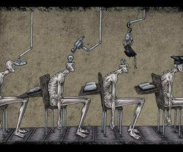 Problemele societatii actuale, in ilustratii rascolitor de sincere