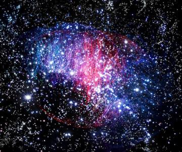 Galaxii in studio: Nebulae de Fabian Oefner