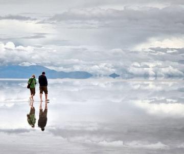 Cum poti sa mergi pe apa in Bolivia