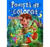 Povesti de colorat - Pinocchio
