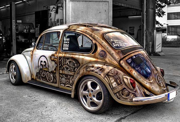 Arta pe patru roti: Cei mai ingeniosi posesori de masini - Poza 1