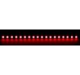 Bara rigida Nanoxia, 18 LED-uri ultra-luminoase, 20 cm (Rosu)