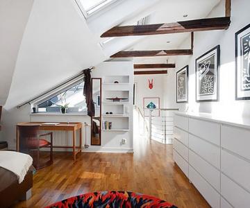 Duplex modern amenajat in lumina soarelui scandinav