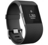 Ceas Fitbit Surge FB501, LCD Monocrhrom touch screen, Bluetooth, GPS, Small (Negru)