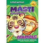 Masti detasabile. Animale (8 masti cu elastic)