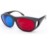Ochelari 3D anaglifici Albacom A66, model aviator (Rosu/Albastru)