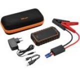 Kit Acumulator extern Trust 10000 mAh + cabluri pornire masina/motocicleta, 2 USB, Lanterna