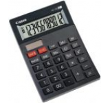 Calculator de birou Canon AS-120 (Negru)