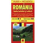 Harta Romaniei - turistica si rutiera