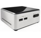 Barebone Intel NUC (Next Unit of Computing) Wilson Canyon BOXD34010WYKH2 (Intel Core i3-4010U, Haswell, No RAM, No HDD, 2.5inch HDD/SSD support, Intel HD Graphics 4400, USB 3.0, HDMI)