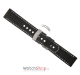 Curea (bratara) Suunto ELEMENTUM TERRA BLACK LEATHER STRAP KIT SS014826000