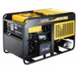 Generator Curent Electric Kipor KDE 19 EA3, 18.8 kVA, Motor 3 cilindrii in linie, 4 timpi, aspiratie, cadru deschis, Diesel, Autonomie 7 ore