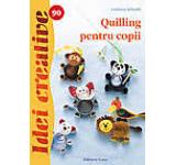 Quilling pentru copii - Idei creative 90