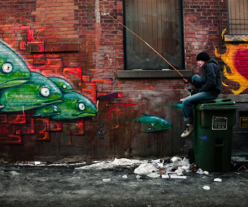 Lumi 3D in graffiti, de Julien Coquentin