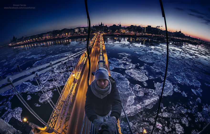 Frumusetea Dunarii inghetate, in poze superbe - Poza 2