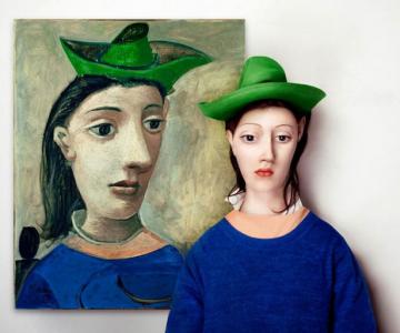 Modele reale pentru portrete abstracte, de Flora Borsi