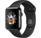 Smartwatch Apple Watch 2 Sport, Retina OLED Capacitive touchscreen 1.5inch, Bluetooth, Wi-Fi, Bratara Silicon 38mm, Carcasa Aluminiu, Rezistent la apa si praf (Negru)