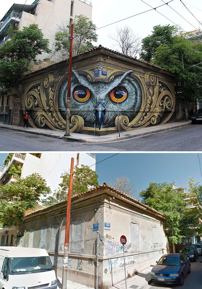 Arta stradala: Cele mai frumoase picturi pe cladiri - Poza 18