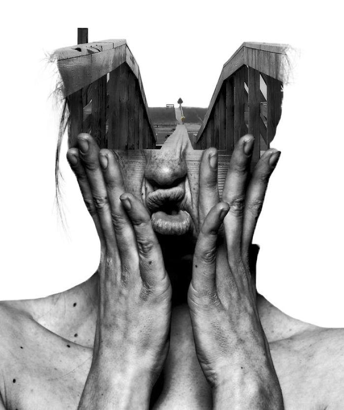 O lume fascinanta: Portrete superbe cu dubla expunere - Poza 2