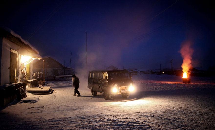 Viata la -50 de grade Celsius, in imagini sublime - Poza 18