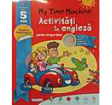 My Time Machine. Activitati in engleza pentru timpul liber (include CD)