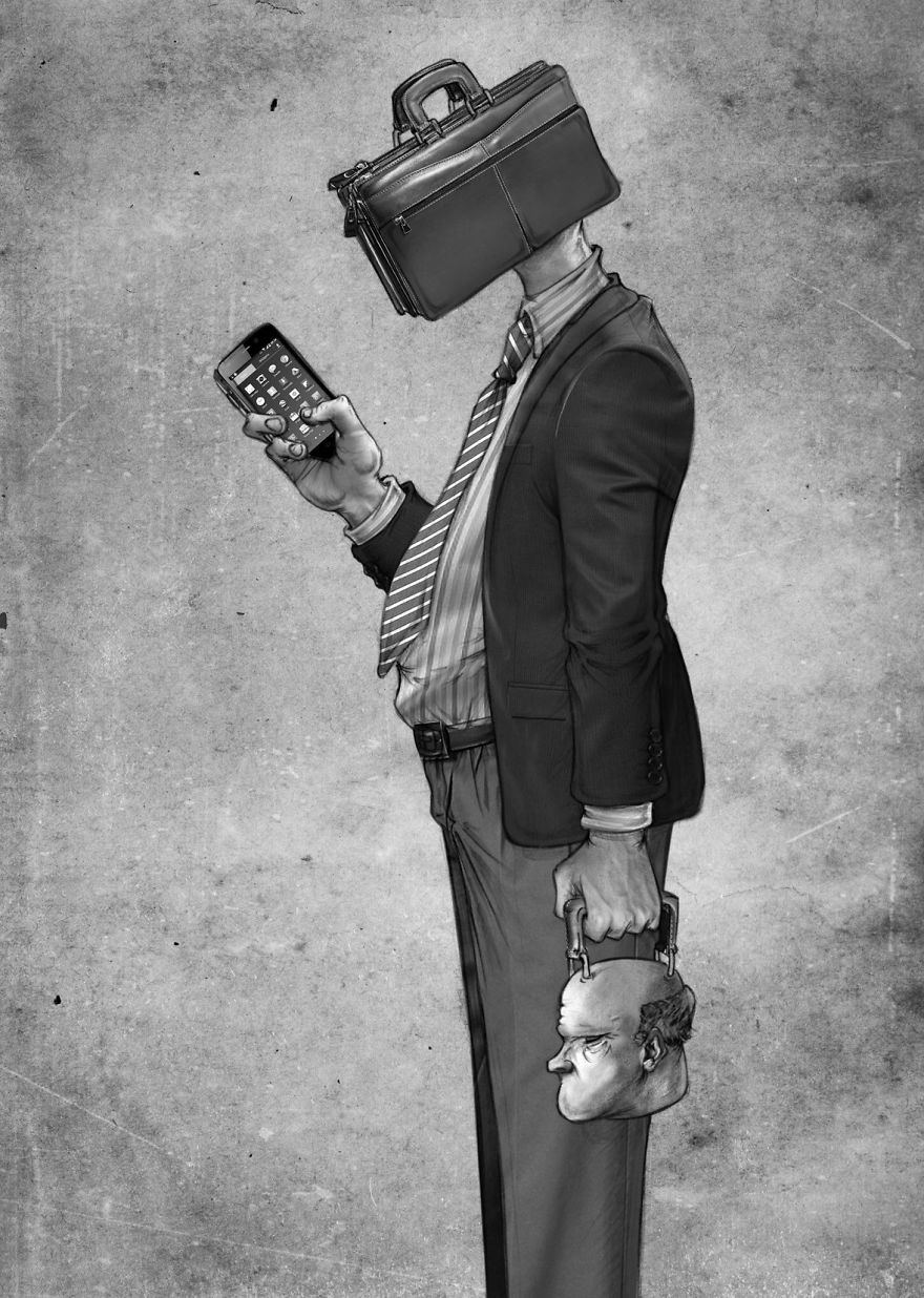 Problemele societatii actuale, in ilustratii rascolitor de sincere - Poza 22