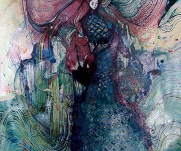 Personaje pictate cu pasiune, de Estella Cuadro