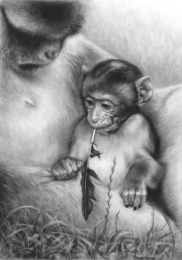 Arta realistica: Lumea animala, in picturi superbe - Poza 10