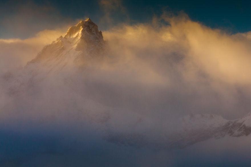 Maretia Alpilor pe timp de iarna - Poza 18