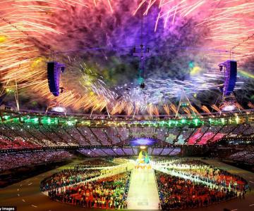 Exploziile de culoare din finalul JO 2012