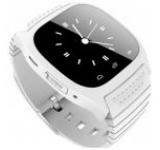 Smartwatch iUni U26, LCD Capacitive touchscreen 1.5inch, Bluetooth, Bratara silicon (Alb)