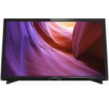 Televizor LED Philips 61 cm (24inch) 24PHH4000/88, HD Ready, Digital Crystal Clear, Perfect Motion Rate 100 Hz