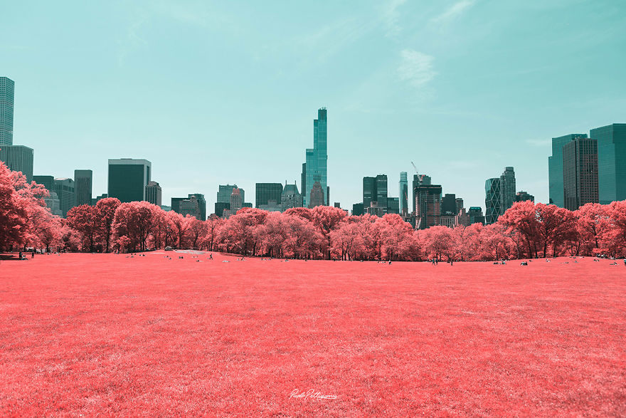 Lumea in infrarosu, intr-un set de fotografii superbe - Poza 8