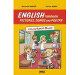 English through pictures songs and poetry. Colouring book