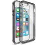 Protectie spate Ringke Fusion 158371, folie protectie inclusa, pentru Apple iPhone SE (Transparent/Negru)