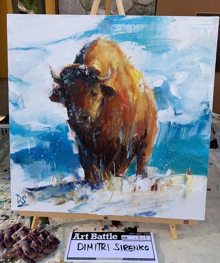 Creatii ale pictorilor amatori demne de a fi expuse in marile muzee - Poza 11
