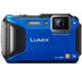 Aparat Foto Digital Panasonic Lumix DMC-FT5, 16.1 MP, Filmare Full HD, 4.6x Zoom Optic, Waterproof, WiFi, NFC (Albastru)