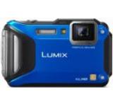 Aparat Foto Digital Panasonic Lumix DMC-FT5, 16.1 MP, Filmare Full HD, 4.6x Zoom Optic, Waterproof, WiFi, NFC (Albastru)