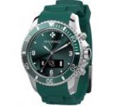 Smartwatch MyKronoz ZeClock, OLED, Bluetooth, Rezistent la apa si praf (Verde)