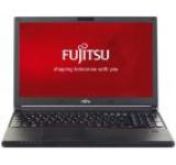 Laptop Fujitsu LifeBook E556 (Procesor Intel® Core™ i7-6500U (4M Cache, up to 3.10 GHz), Skylake, 15.6inchFHD, 8GB, 256GB SSD, Intel® HD Graphics 520, Wireless AC, FPR)