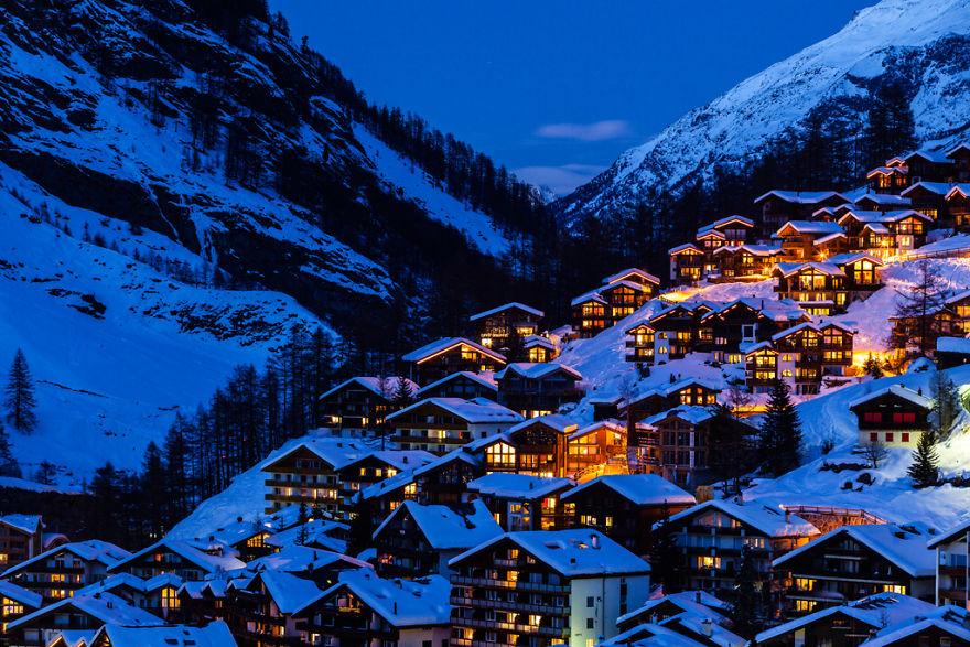 Maretia Alpilor pe timp de iarna - Poza 20